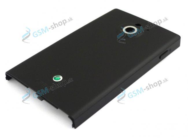 Kryt batérie Sony Xperia Sola MT27i čierny Originál