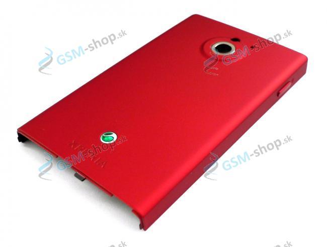Kryt batérie Sony Xperia Sola MT27i červený Originál