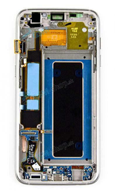 LCD Samsung G935F Galaxy S7 Edge a dotyk zlatý Originál