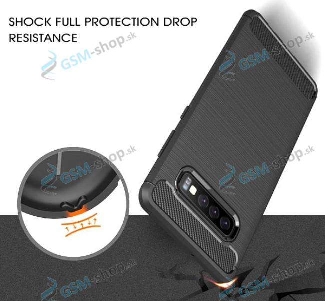 Ochranný kryt EXTRA iPhone X, iPhone XS čierny