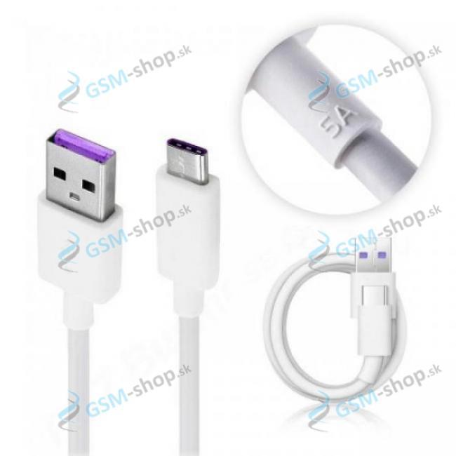 Datakábel Huawei HL1289 USB typ C, USB 3.1 biely Originál