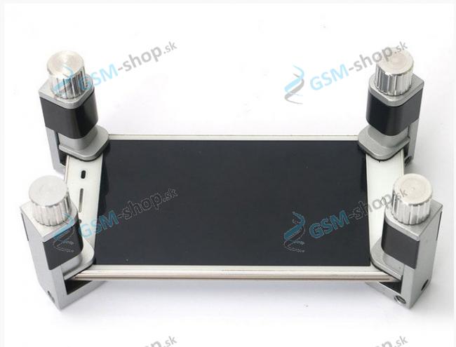 Upínak, zverák na LCD hliníkový 2 ks