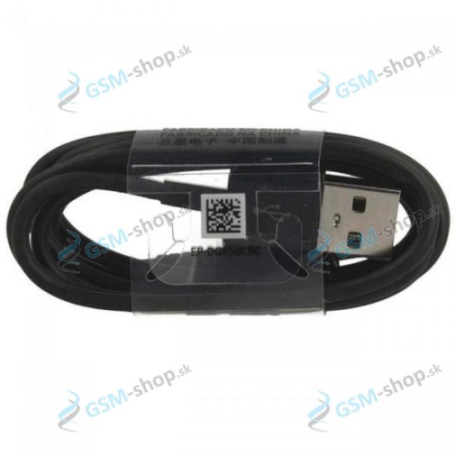 Datakábel Samsung USB typ C Originál neblister čierny 1,5 m