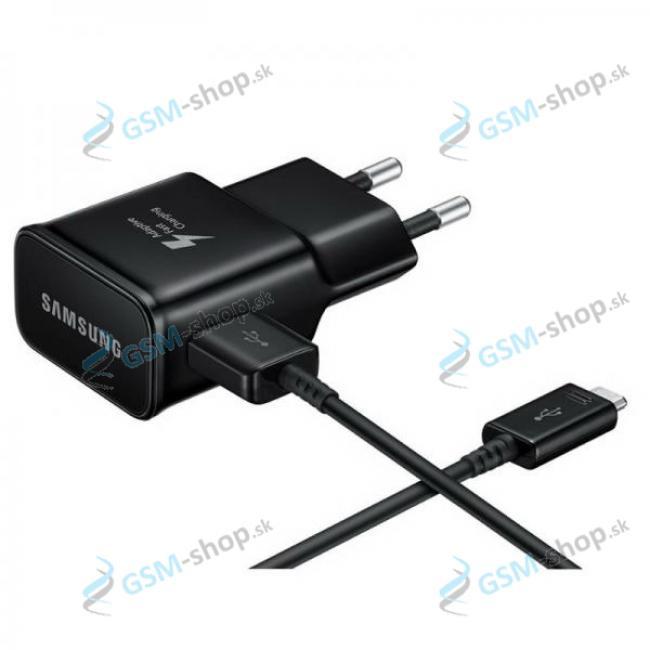 Nabíjačka Samsung EP-TA20EBE USB-C čierna neblister Originál