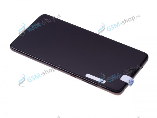 LCD Huawei Mate 20 a dotyk s krytom čiernym Originál