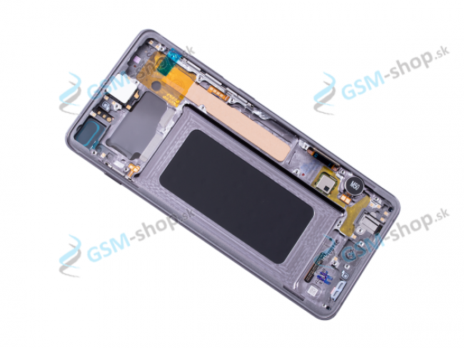 LCD Samsung Galaxy S10 Plus (G975) a dotyk s krytom čiernym Originál