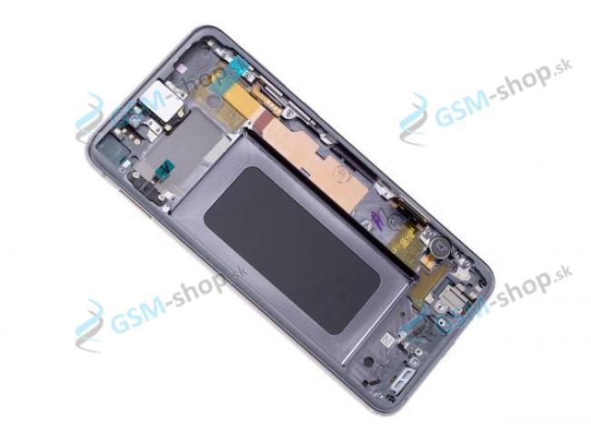 LCD Samsung Galaxy S10 Lite G970 a dotyk s krytom čiernym Originál