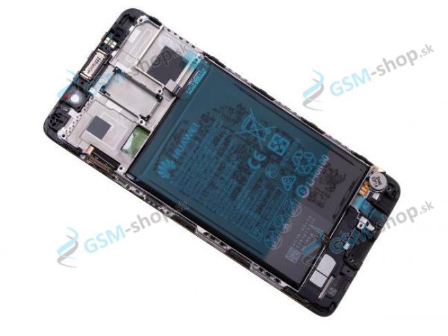 LCD displej Huawei Mate 9 Pro a dotyk čierny s krytom Originál