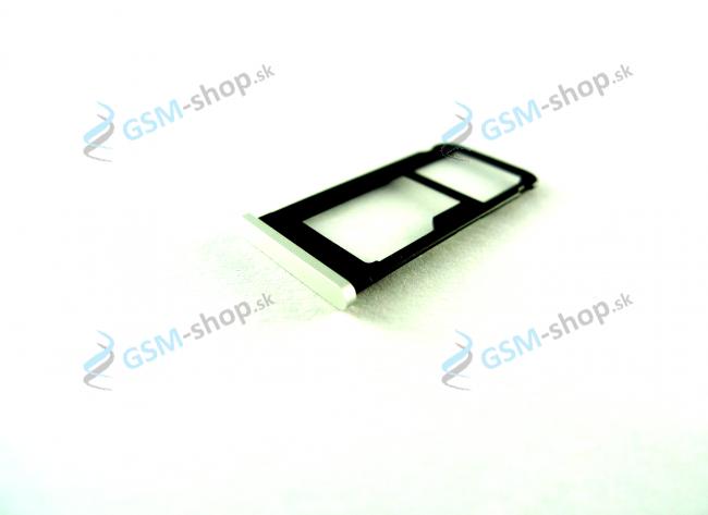 Sim držiak Nokia 6.1 Dual Sim biely Originál