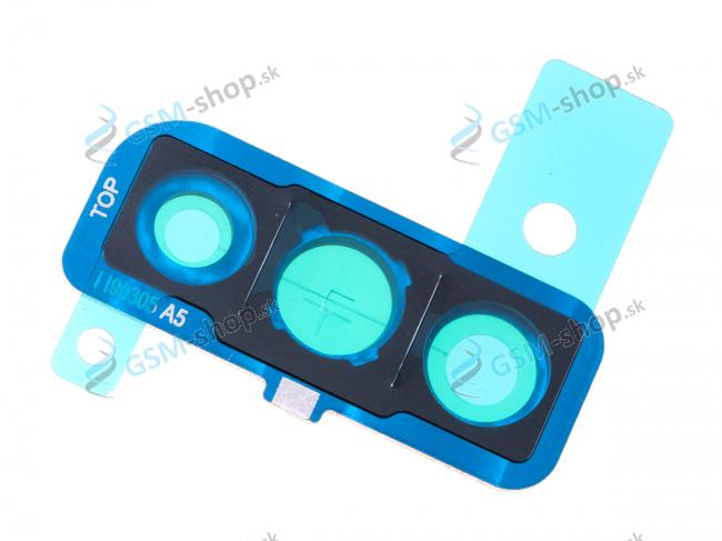Kryt kamery Samsung Galaxy A50 A505 modrý Originál
