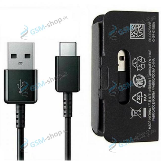 Datakábel Samsung EP-DG970BBE USB typ C Originál neblister čierny
