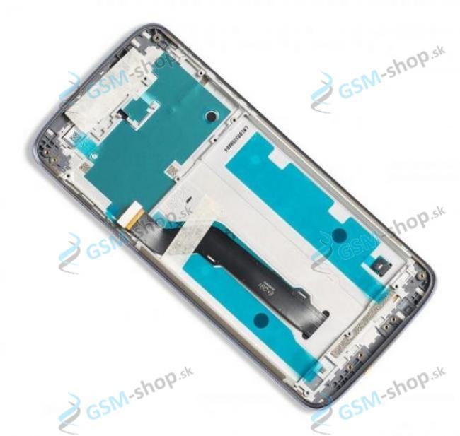 LCD displej Motorola Moto E5 Plus (XT1924) a dotyk zlatý s krytom Originál