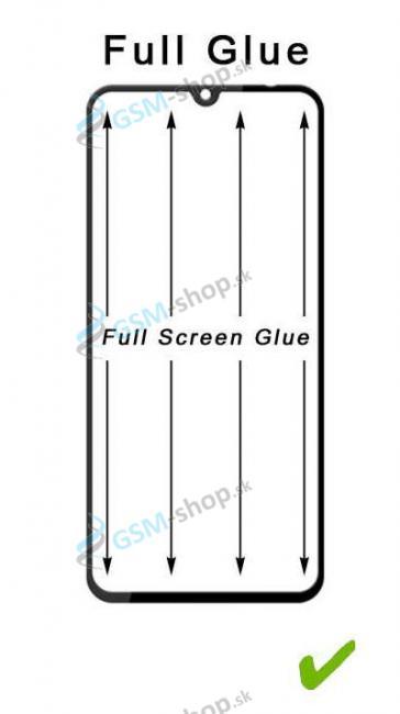 Tvrdené sklo Samsung Galaxy A40 celý displej 5D FULL GLUE čierne