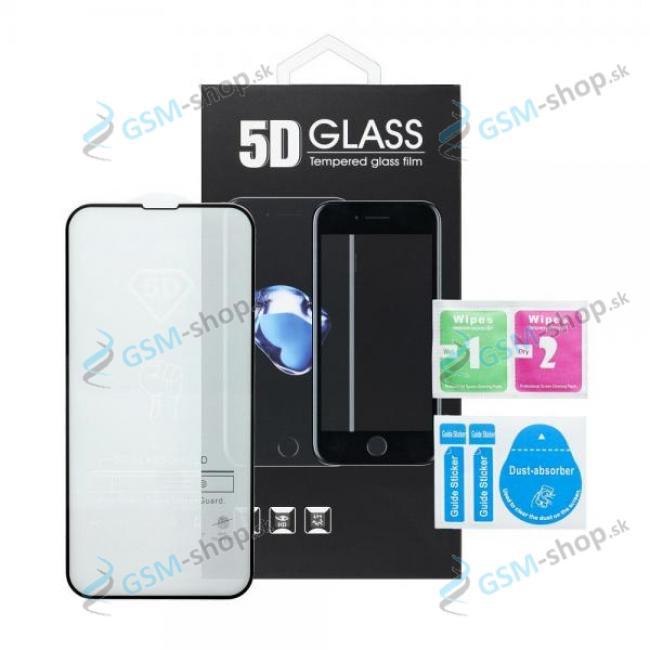 Tvrdené sklo Samsung Galaxy A20e celý displej 5D FULL GLUE čierne