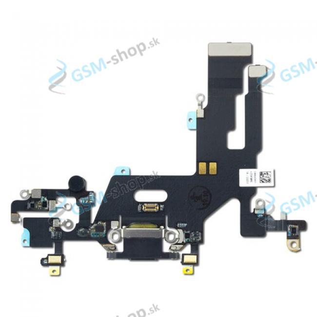 Flex Apple iPhone 11 pre nabíjanie čierny Originál