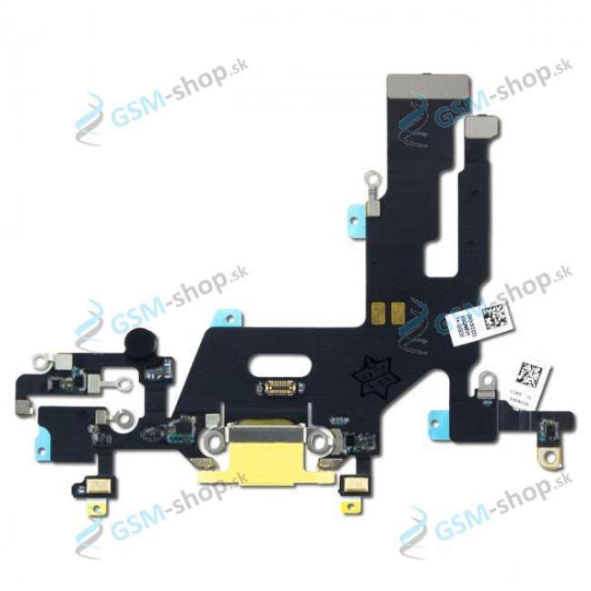 Flex Apple iPhone 11 pre nabíjanie žltý Originál