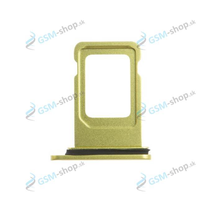 SIM držiak iPhone 11 žltý Originál