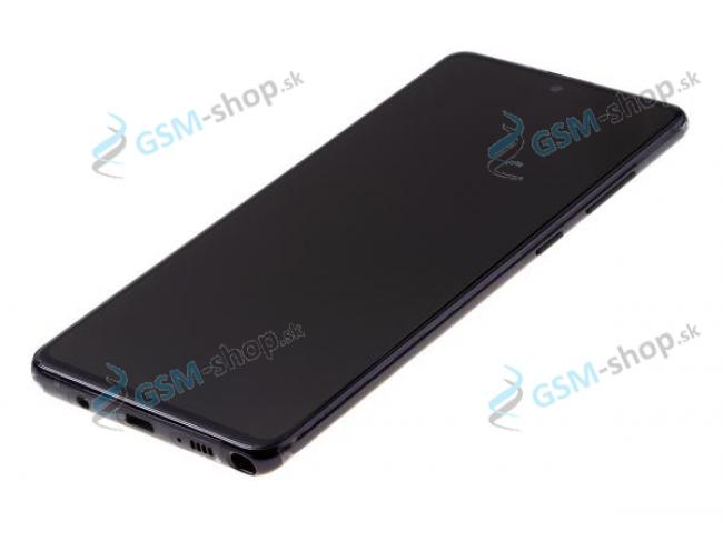 LCD Samsung Galaxy Note 10 Lite a dotyk s krytom čiernym Originál