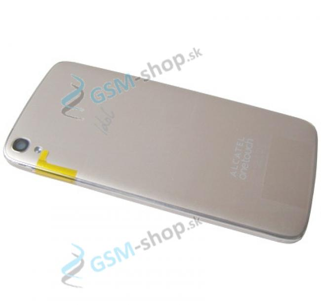 Kryt Alcatel OneTouch Idol 3 (6045Y) batérie zlatý Originál