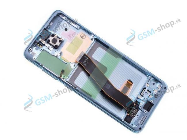 LCD Samsung Galaxy S20 (G980F) a dotyk s krytom modrým Originál