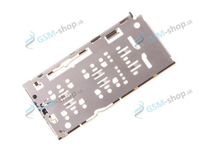Držiak Samsung Galaxy A10, A50, A71 pre SIM a microSD Originál