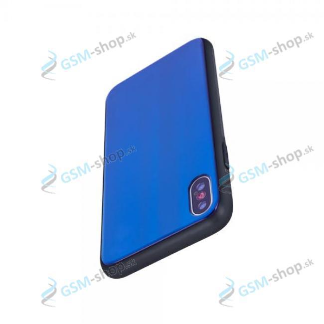 Ochranný kryt sklenený Xiaomi Redmi Note 8 Pro modrý