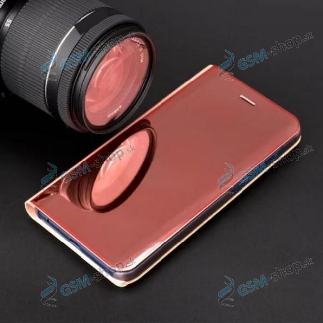 Púzdro CLEAR VIEW Samsung S20 (G980) ružové