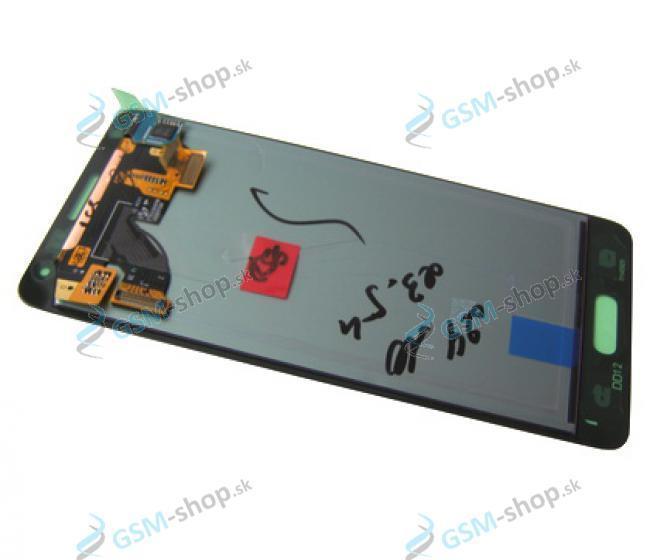LCD Samsung Galaxy Alpha (G850F) a dotyk zlatý Originál