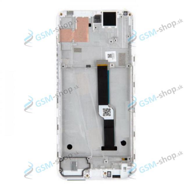 LCD Motorola One Fusion Plus (XT2067) a dotyk s krytom bielym Originál