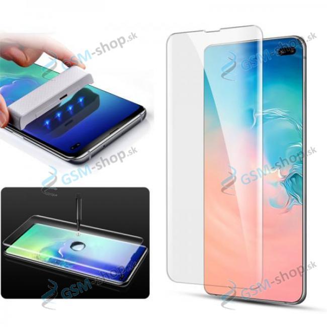 Tvrdené sklo HARD GLASS UV pre Samsung Galaxy S10 (G973) priesvitné
