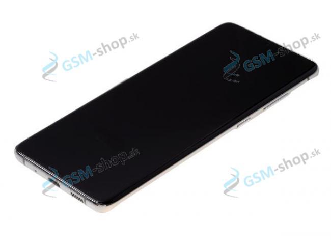LCD Samsung Galaxy S20 Plus (G985, G986) a dotyk s krytom bielym Originál
