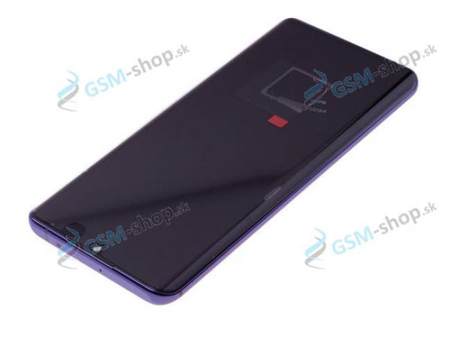LCD Xiaomi Mi Note 10 Lite a dotyk s krytom fialovým Originál