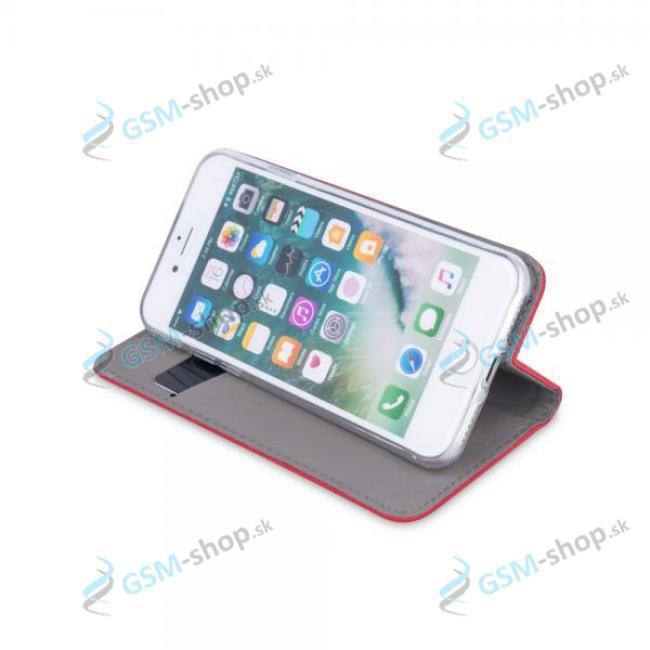 Púzdro iPhone 12 Mini knižka magnetická červená