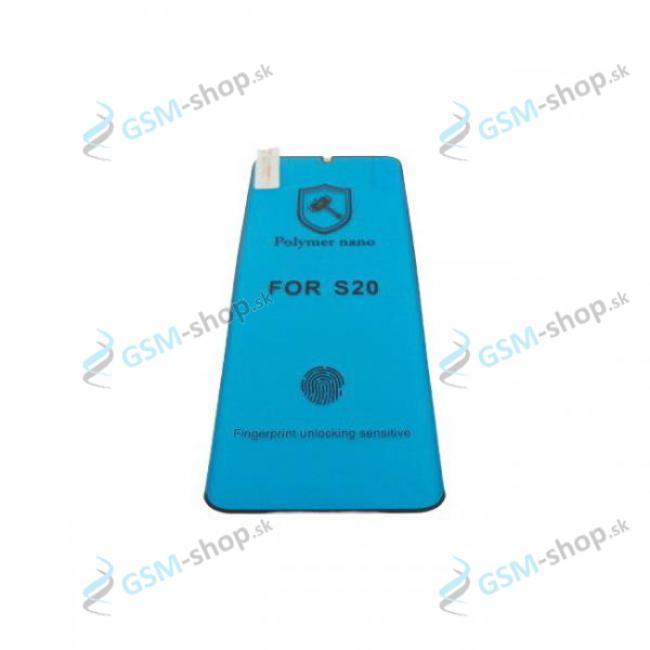 Tvrdené sklo CERAMIC FOIL Samsung Galaxy S20 (G980) čierne