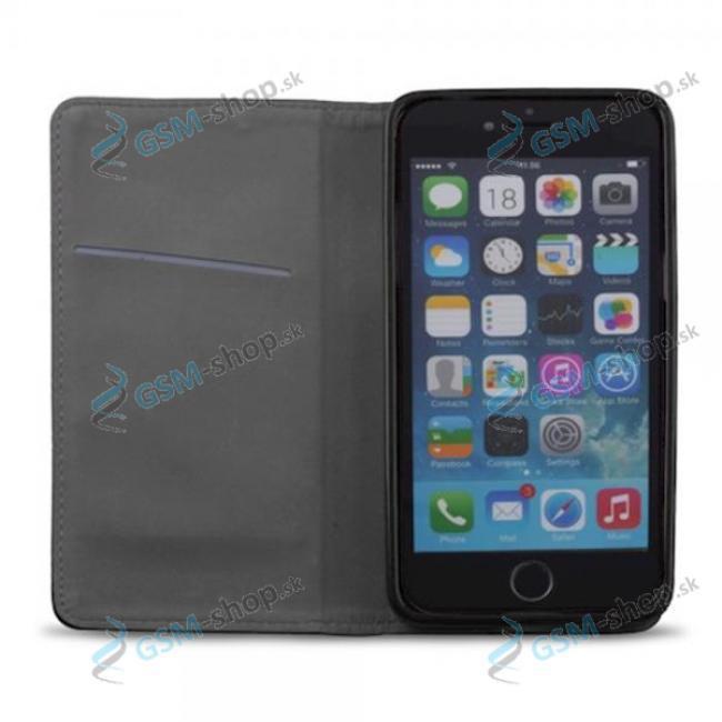 Púzdro iPhone 12 Pro Max knižka magnetická čierna