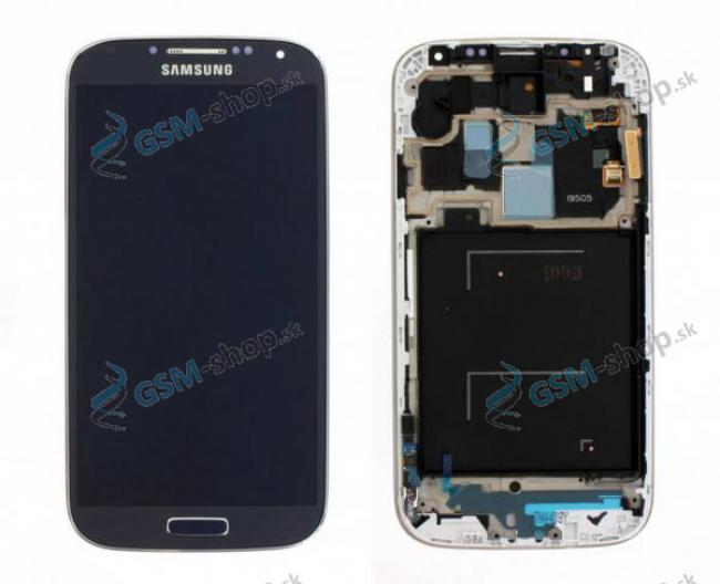 LCD displej Samsung Galaxy S4 (i9505) a dotyk čierny s krytom Originál