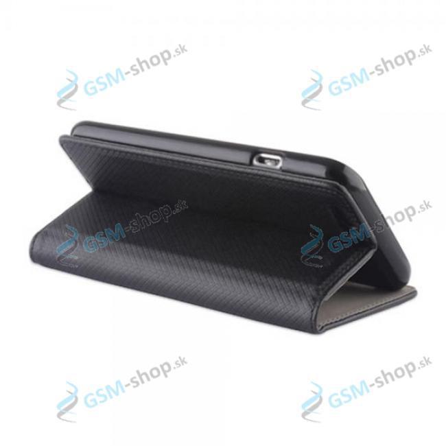 Púzdro Samsung Galaxy A12 (A125), M12 (M127) knižka magnetická čierna