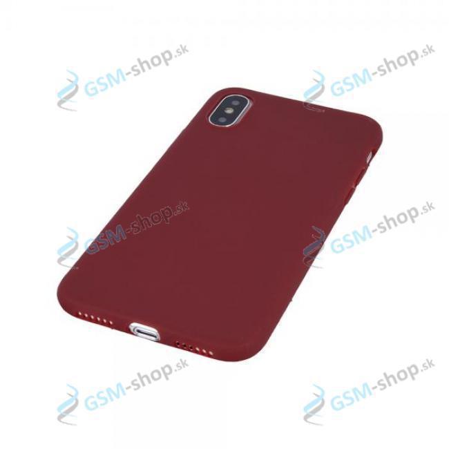 Púzdro silikón Samsung Galaxy A72, A72 5G Burgundy