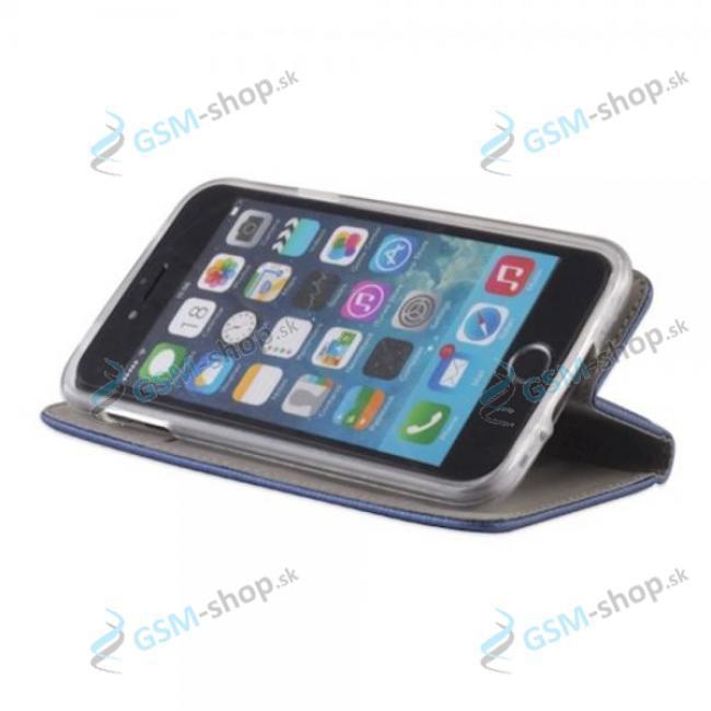 Púzdro Motorola Moto G10, Moto G20, Moto G30 knižka magnetická modrá