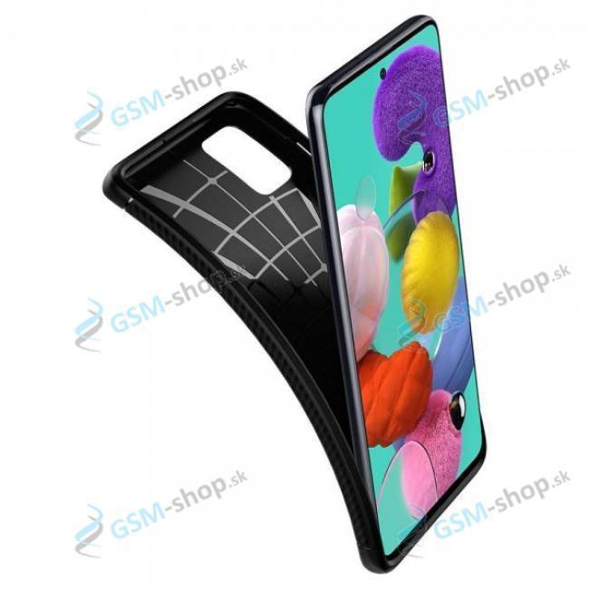 Púzdro SPIGEN Rugged Armor Samsung Galaxy A42 5G (ACS02113) čierne