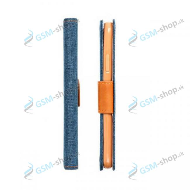 Púzdro CANVAS Samsung Galaxy A52, A52 5G, A52s 5G knižka modrá