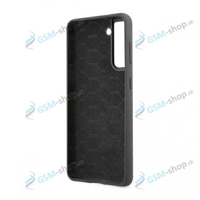 Púzdro BMW Samsung Galaxy S21 (G991) BMHCS21SMSLBLBK silikón čierny