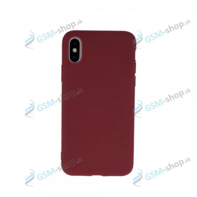 Púzdro silikón Motorola Moto E7 Power (XT2097) Burgundy