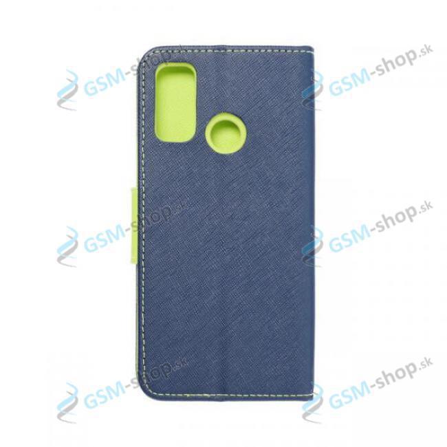 Púzdro Samsung Galaxy A22 5G (A226) knižka modrá s prackou