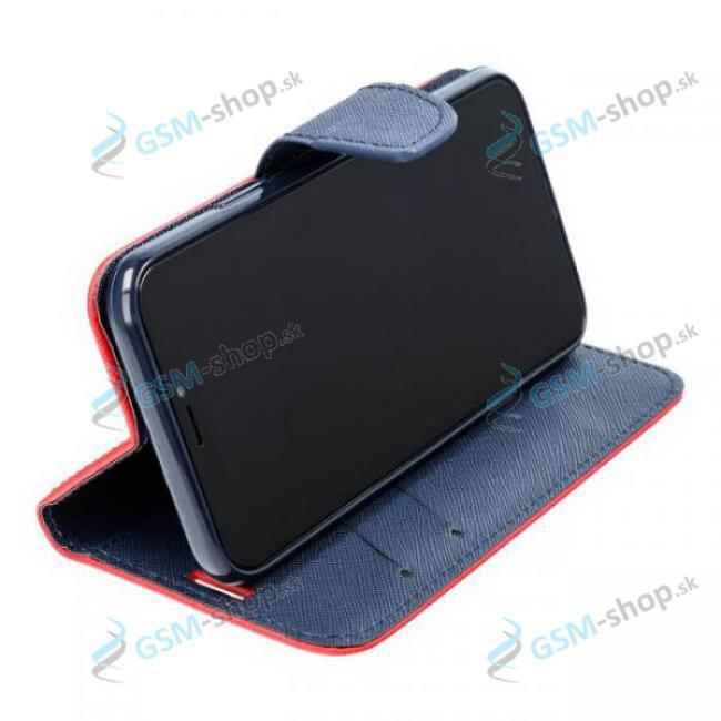 Púzdro Samsung Galaxy A22 (A225) knižka červená s prackou