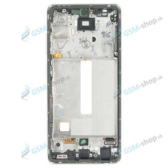 LCD displej Samsung Galaxy A52, A52 5G a dotyk s krytom fialovým Originál