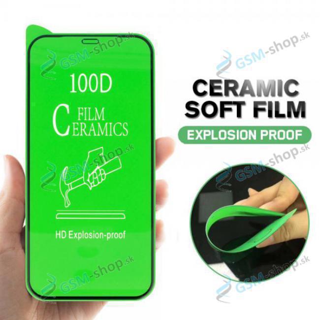 Tvrdené sklo CERAMIC iPhone 13, iPhone 13 Pro čierne