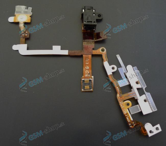 Flex iPhone 3G, 3GS pre audio čierny