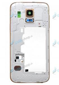 Stred Samsung Galaxy S5 mini G800F zlatý Originál