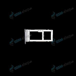 SIM a SD držiak Samsung Galaxy Note 20 Ultra biely Originál